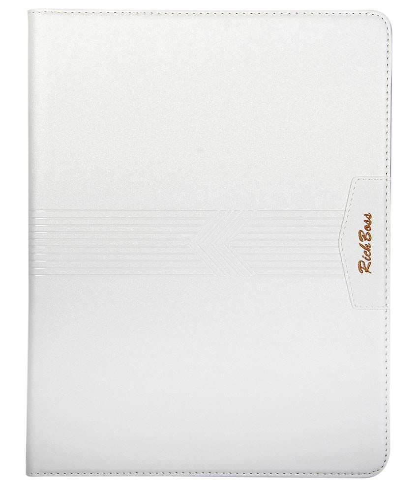 Caseous Flip Cover For Apple Ipad 4 - White