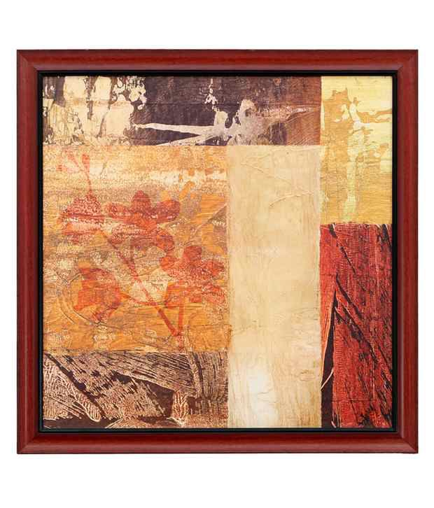 Elegant Arts And Frames Textured Abstract Pattern Painting