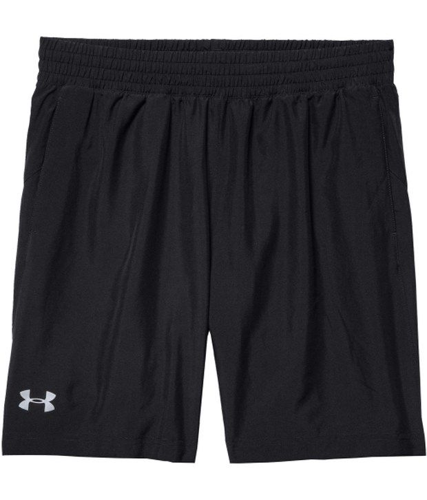 Under Armour Under Armour Grey And Black Mens Launch Woven Running Shorts (pack Of 2)