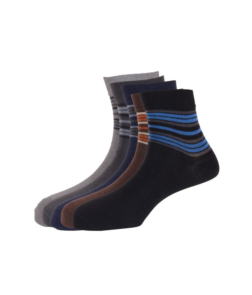 Arrow Ankle Length Socks for Men (5 Pair Pack)