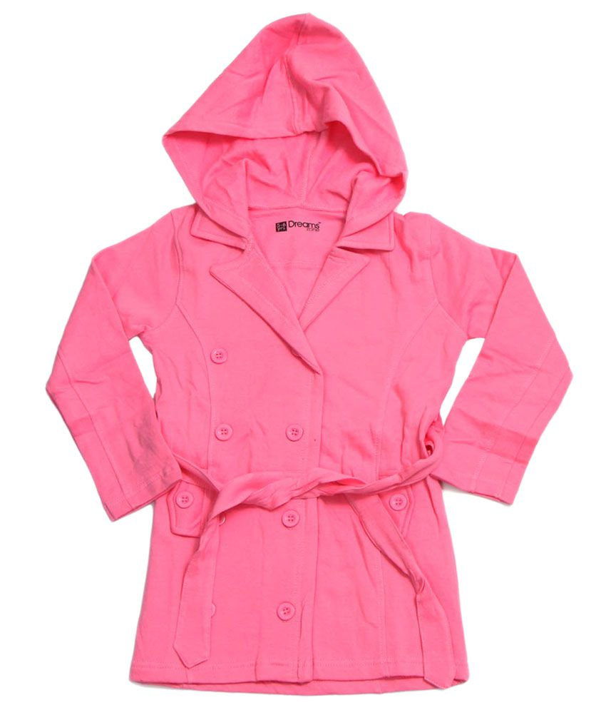 Dreamszone Pink Cotton Coat