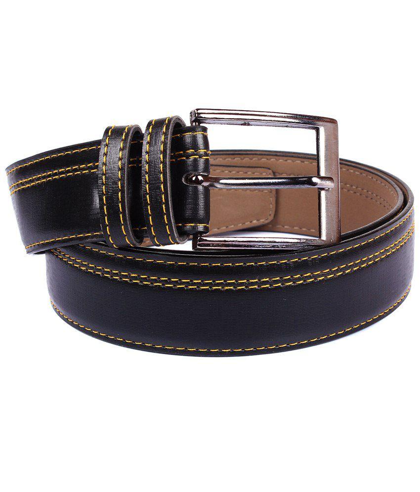 Fedrigo Black Pin Buckle Belt