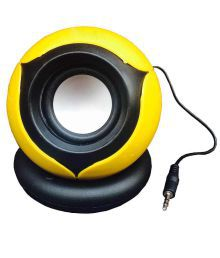 Black Cat Gs555 Portable Speakers - Yellow