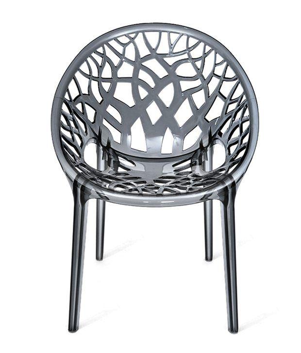 nilkamal crystal plastic chair - Plastic Chair
