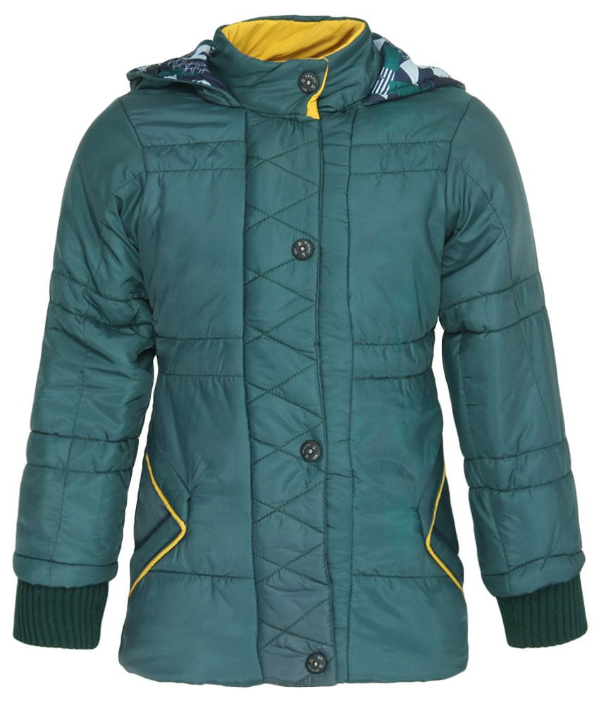 Fort Collins Green With Hooded Jacket