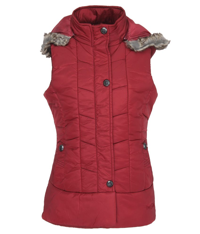 Fort Collins Maroon With Hood Jacket