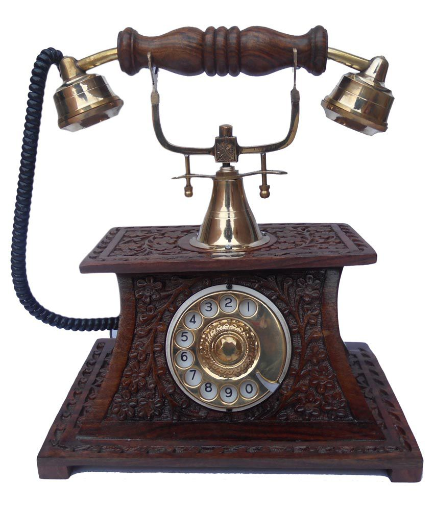 Handicraft Vintage Operational Telephone Corded Landline Phone