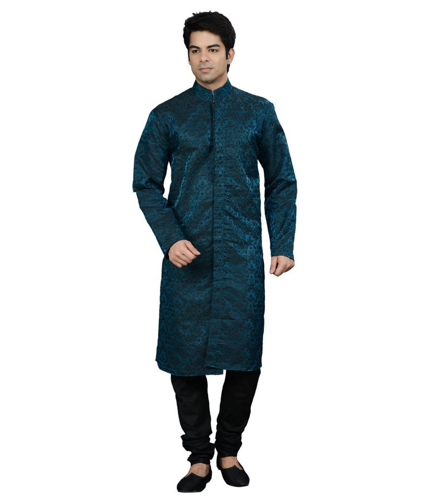 how to wear kurta pyjama