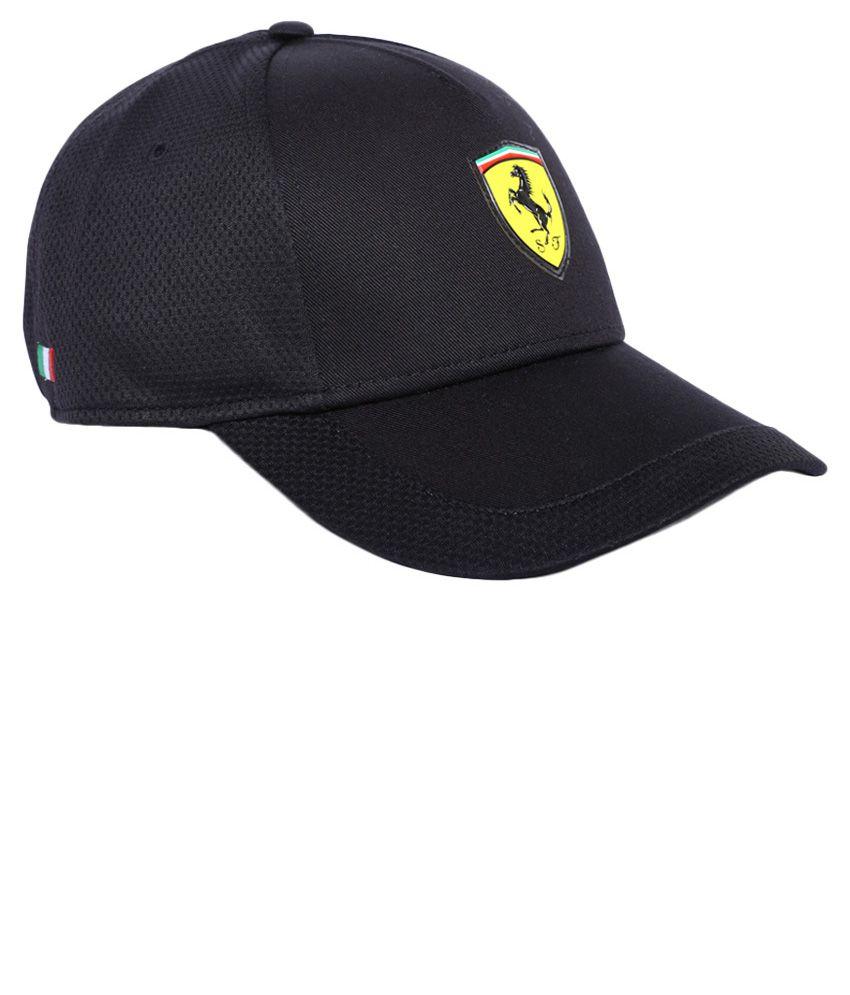 Puma Black Ferrari Cap - Buy Online   Rs.  f38d6fe1536