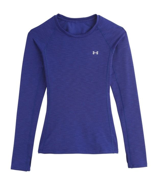Under Armour Blue and Navy Women's ColdGear Cosy Crewneck Long Sleeve Shirts (Pack of 2)