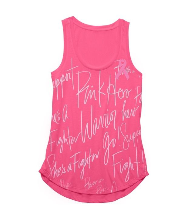 Under Armour Pink Women's All Over Print Tank Top