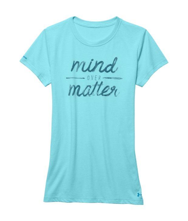 Under Armour Blue Women's Mind Over Matter Tri-Blend T-Shirt