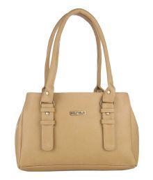 Fostelo Beige P.u. Shoulder Bags