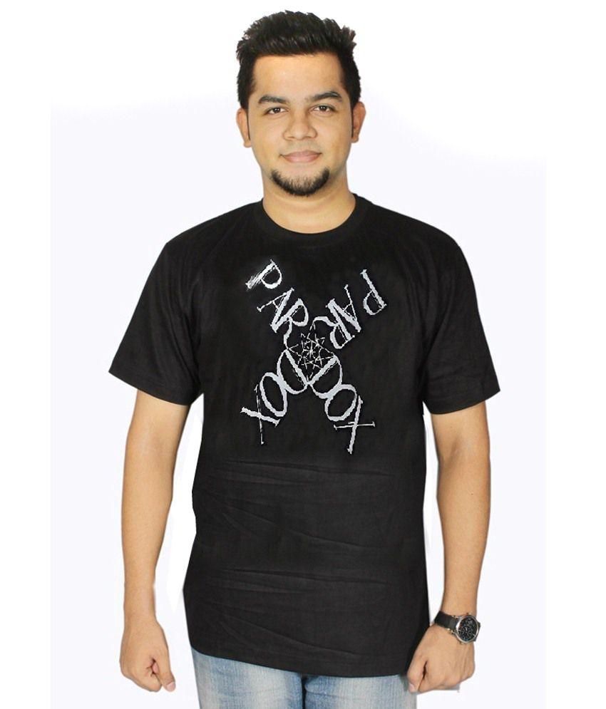 Dnt Enterprises Black Cotton T-shirt Pack Of 18