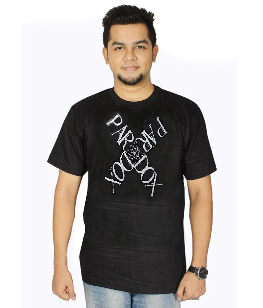 Dnt Enterprises Black Cotton T-shirt Pack Of 31