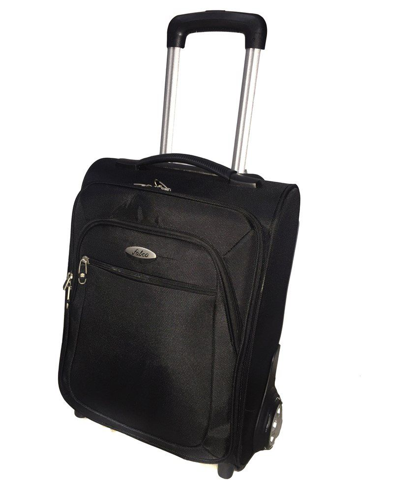 Fabco 2 Wheel Laptop Strolley Bag-black