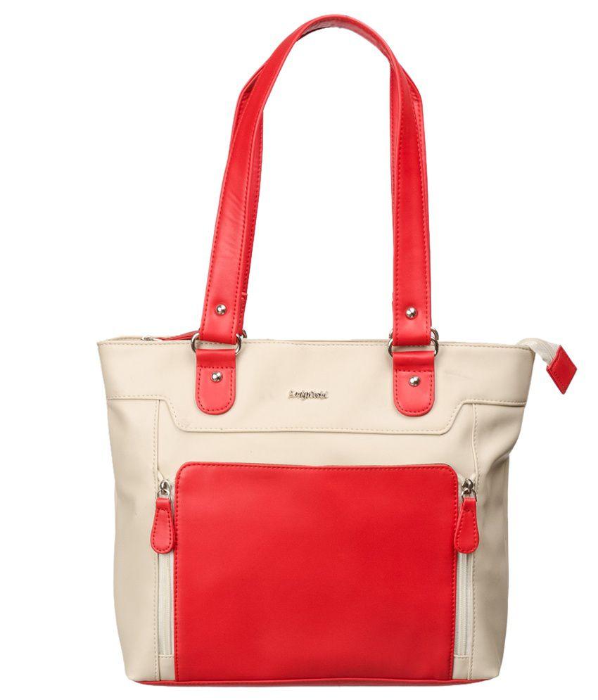 Lady World Beige Pu Shoulder Bag