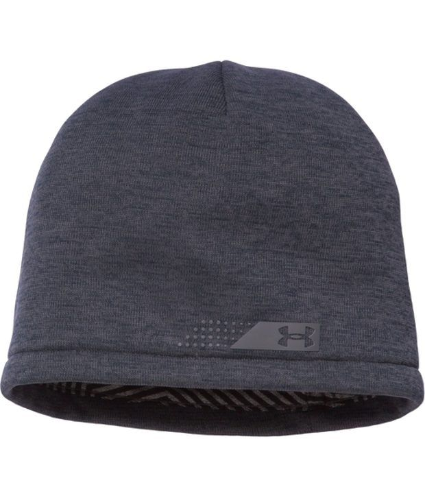 Under Armour Under Armour Men's Coldgear Infrared Storm Golf Beanie Stealth Gray