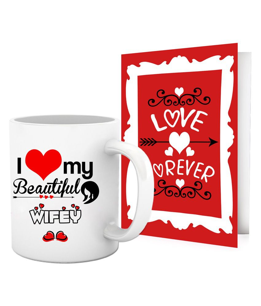 5ddb922a8d8 Tied Ribbons Love Gift For A Beautiful Wife On Valentine s Day  Buy Online  at Best Price in India - Snapdeal