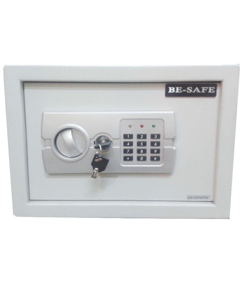 Besafe Grey Electronic Safe Locker