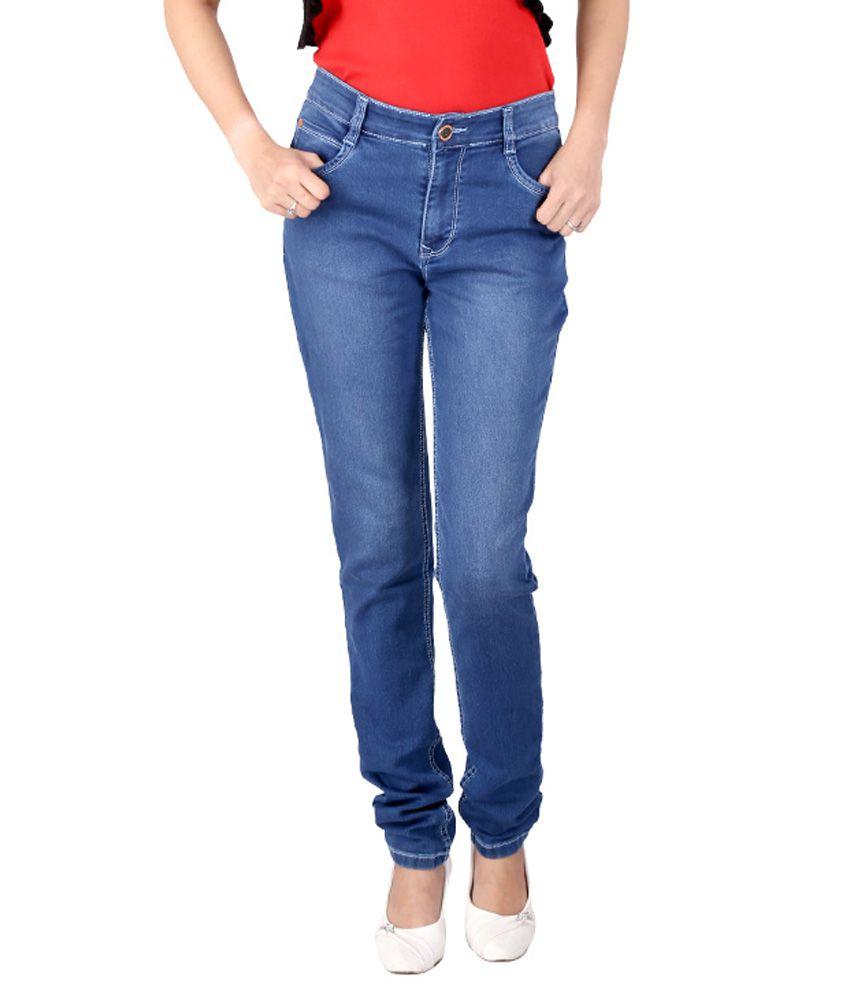 Fck-3 Blue Denim Jeans