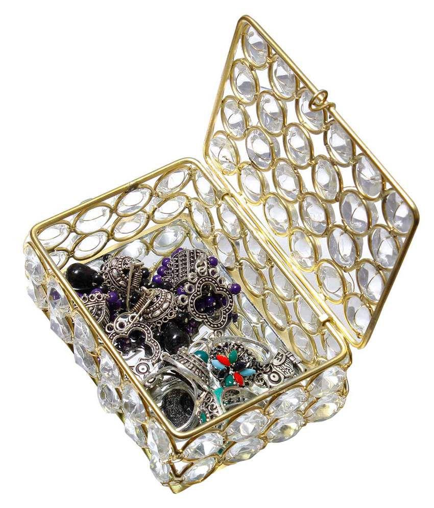 Kiran Udyog Crystal Jewellery Box: Buy Kiran Udyog Crystal ...