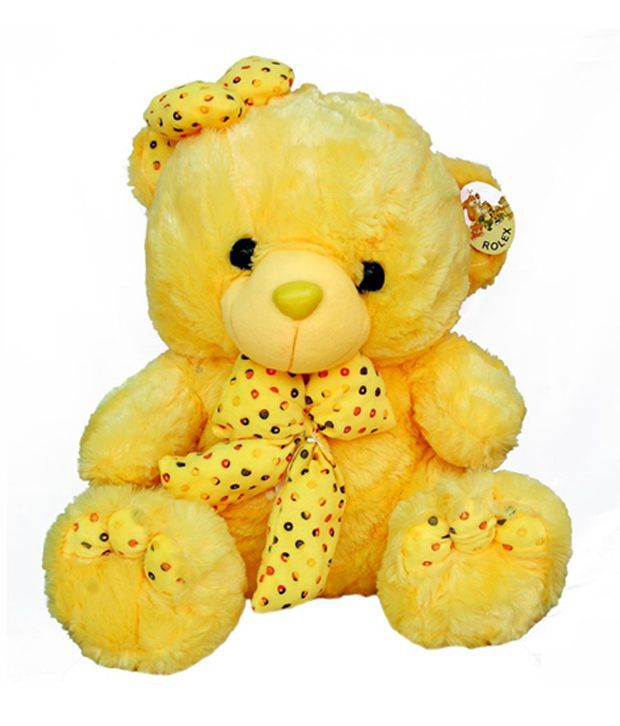 Mayursflora Yellow Teddy Bear