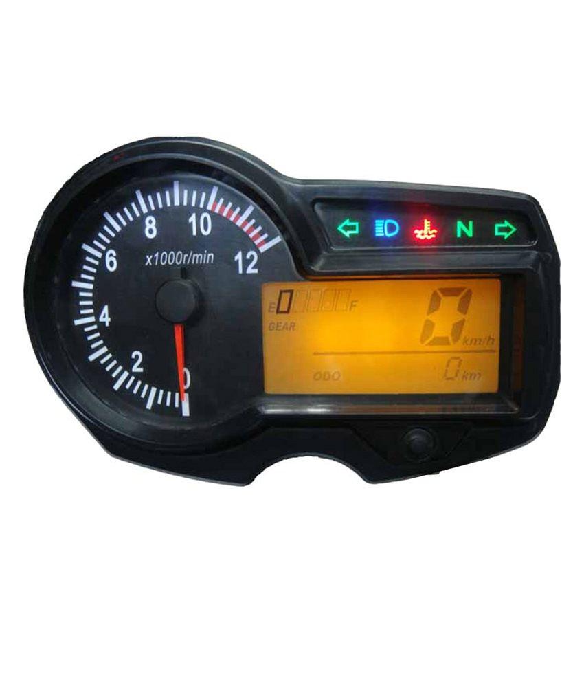 Oem Bike Digital Speedometer Assembly For Tvs Apache Rtr 160