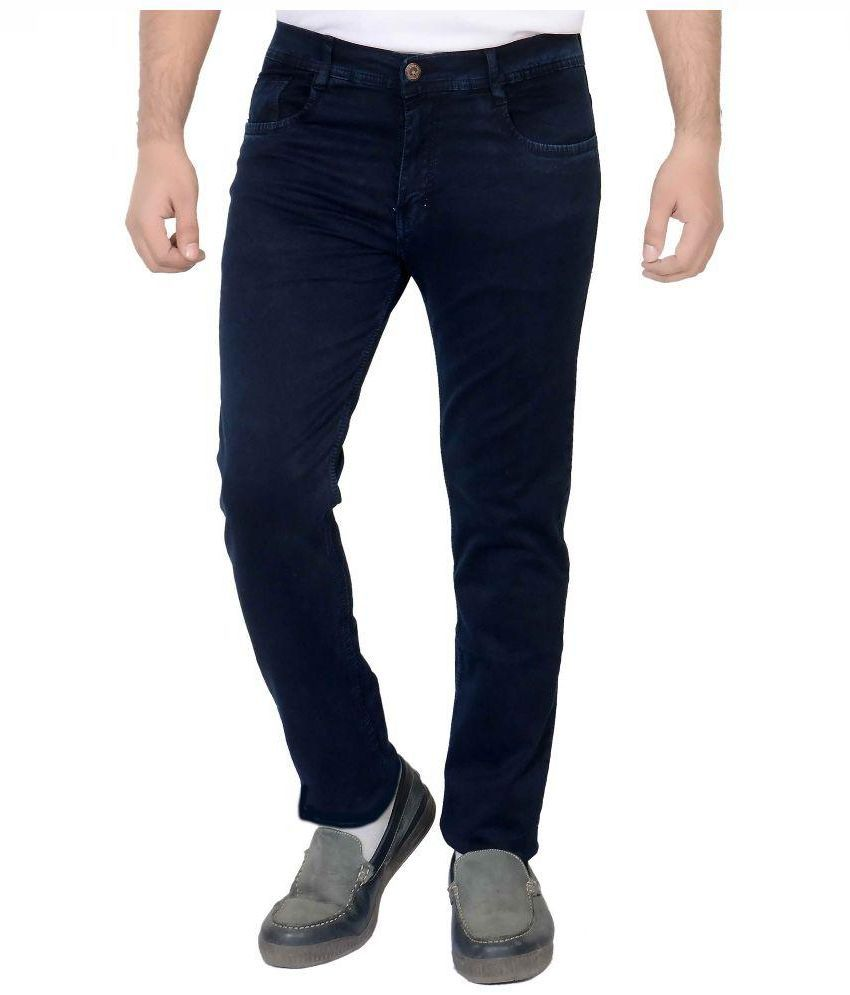 Fusion Blue Regular Fit Jeans