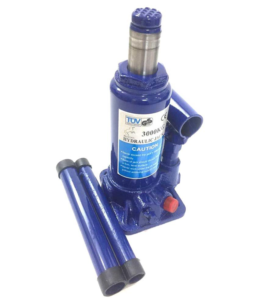 Grind Sapphire Iron Hydraulic Bottle Shaped Jack For Audi A4-blue Image