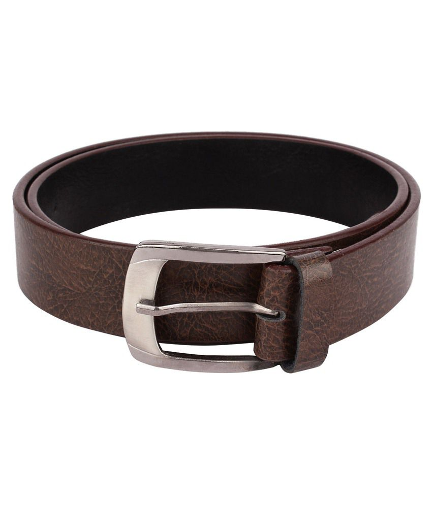Rocksy Pin- Buckle brown Genuine leather men's Casual belt