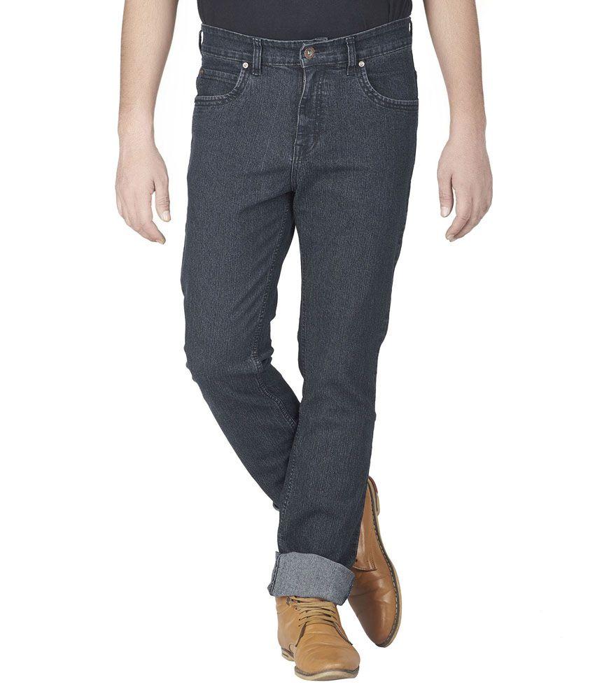 Star Runway Black Regular Fit Jeans
