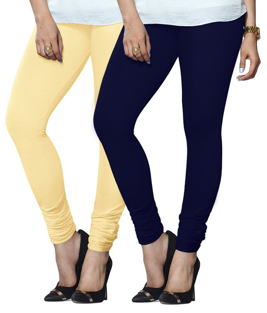 Lux Lyra Multi Color Cotton Leggings