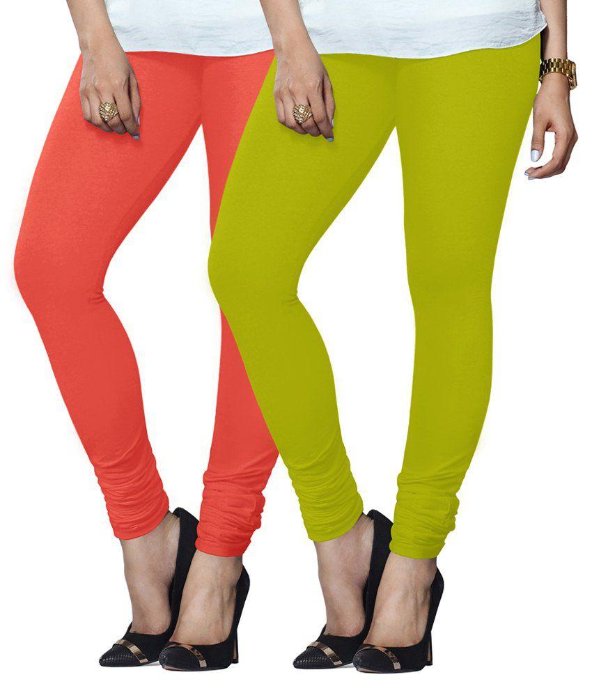 Lux Lyra Multi Color Cotton Leggings