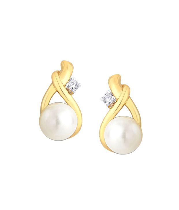 Shuddhi Parineeta 18kt Gold Diamond Studs