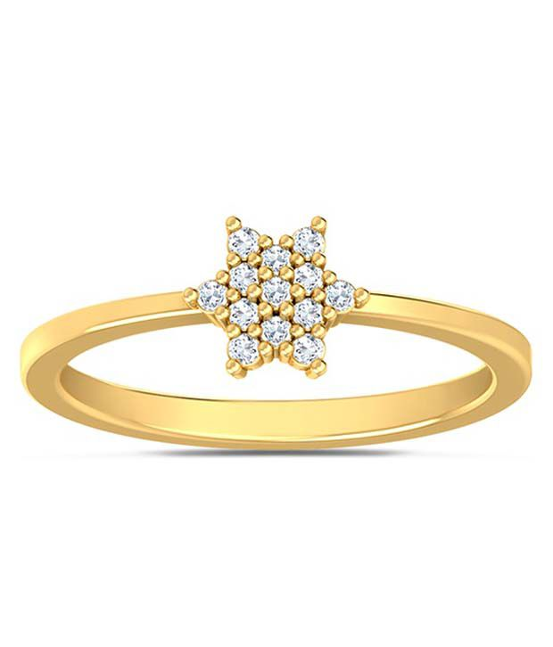 Kaizer Jewelry Golden Alloy Ring