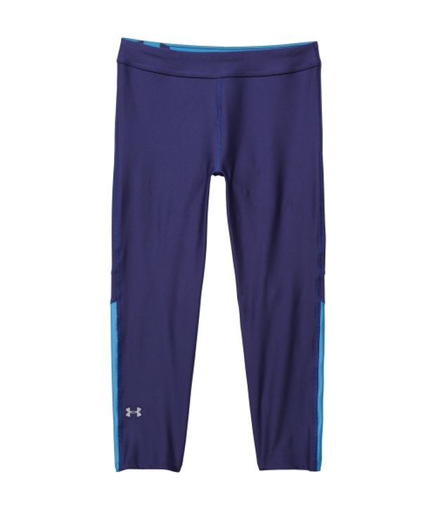 Under Armour Under Armour Blue And Black Womens Heat Gear Armour Three Fourth (pack Of 2)