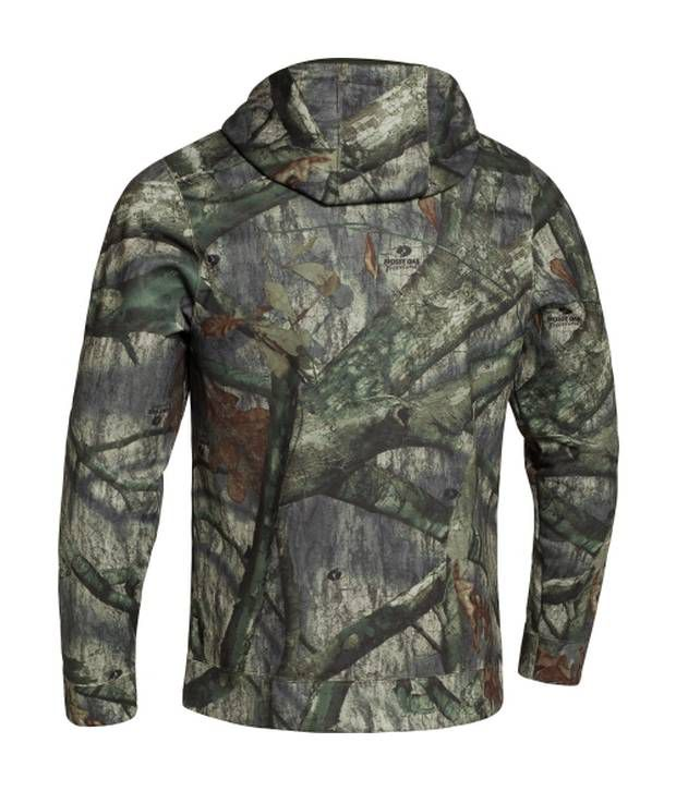 Under Armour Under Armour Brown And Green Mens Cold Gear Infrared Scent Control Sweatshirt (pack Of 2)