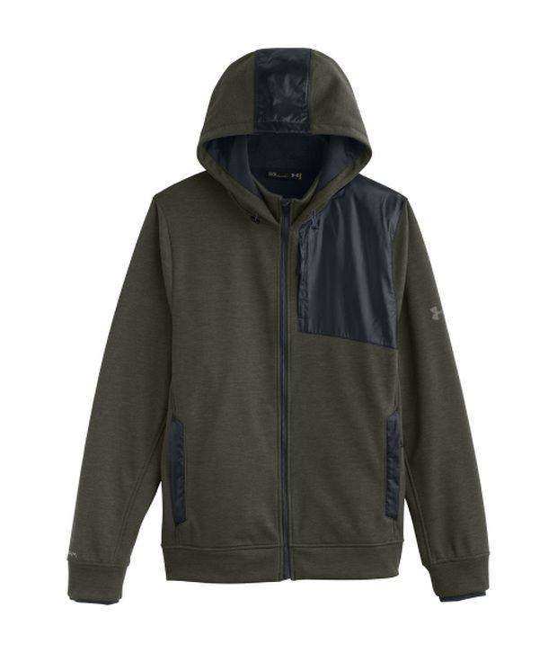 Under Armour Under Armour Green And Grey Mens Element Breaker Full Zip Sweatshirt (pack Of 2)