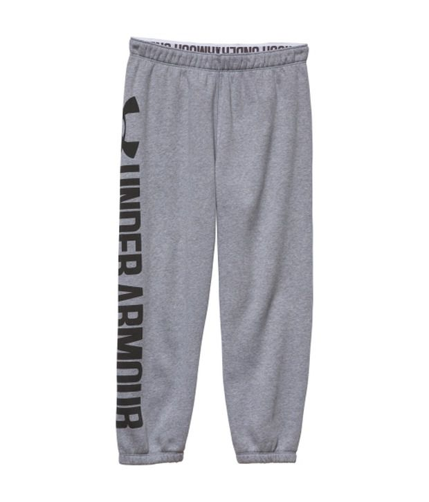 Under Armour Under Armour Grey Womens Favourite Fleece Three Fourth