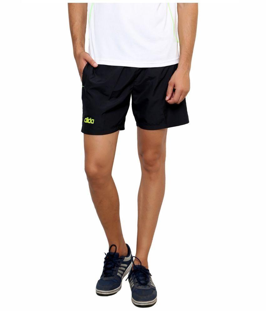 Dida Black Running Shorts