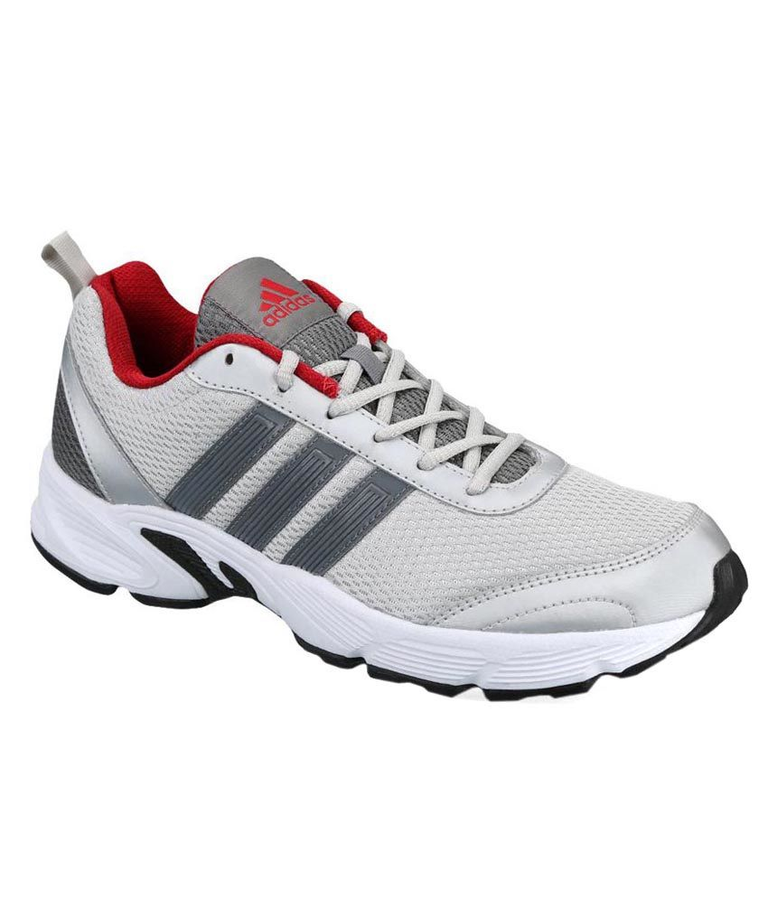 7ff75d2ae6e3b7 Adidas Albis 1.0 Metal Silver   Grey Sports Shoes - Buy Adidas Albis 1.0  Metal Silver   Grey Sports Shoes Online at Best Prices in India on Snapdeal