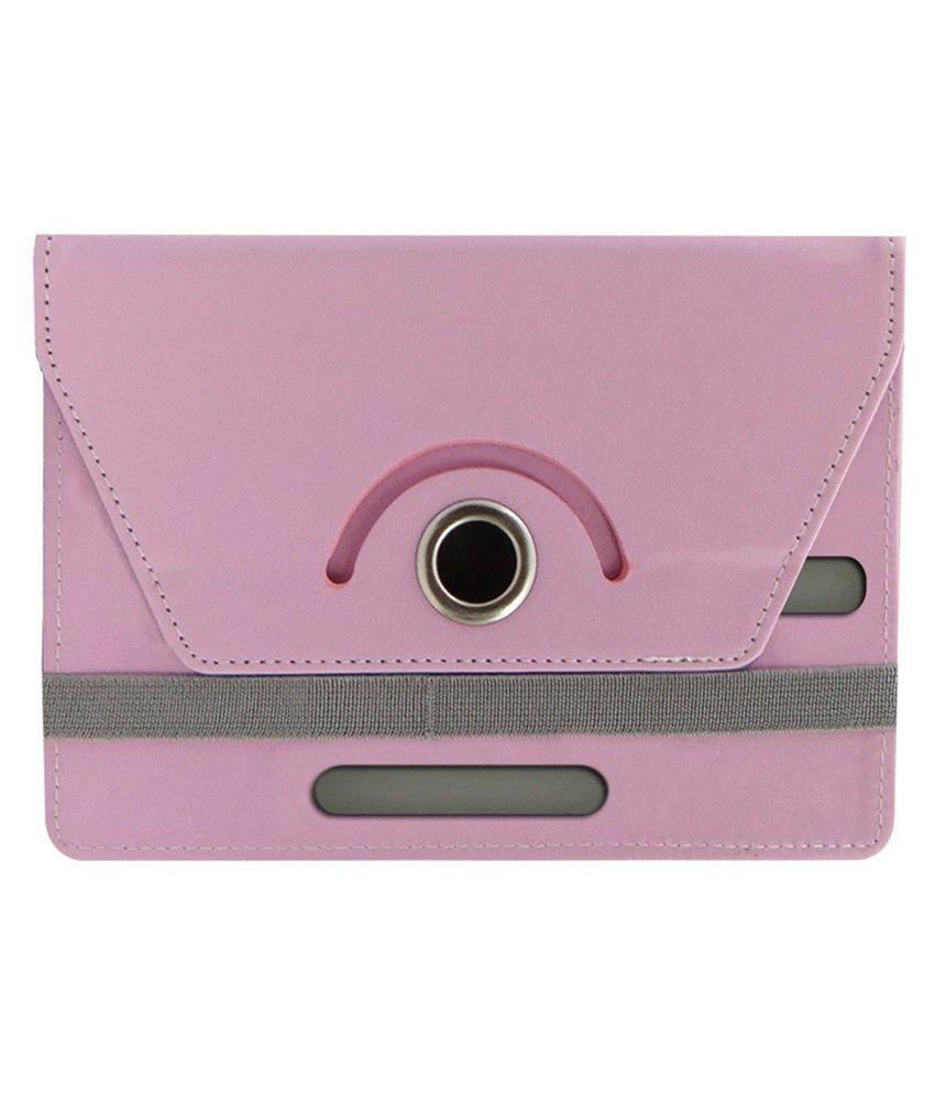 Gadget Decor Tablet Flip Cover For Samsung Galaxy Tab 4 T231 Tablet-pink