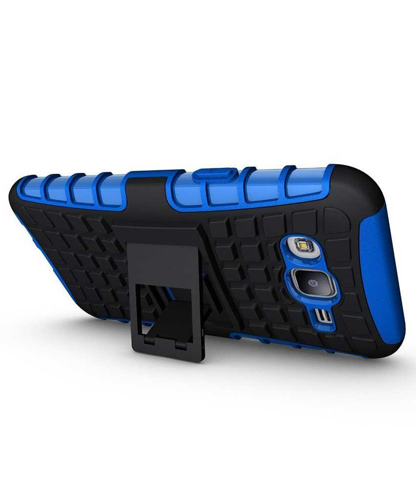 the best attitude 4d9fe e4eb4 Tbz Back Cover For Samsung Galaxy J7 - Blue