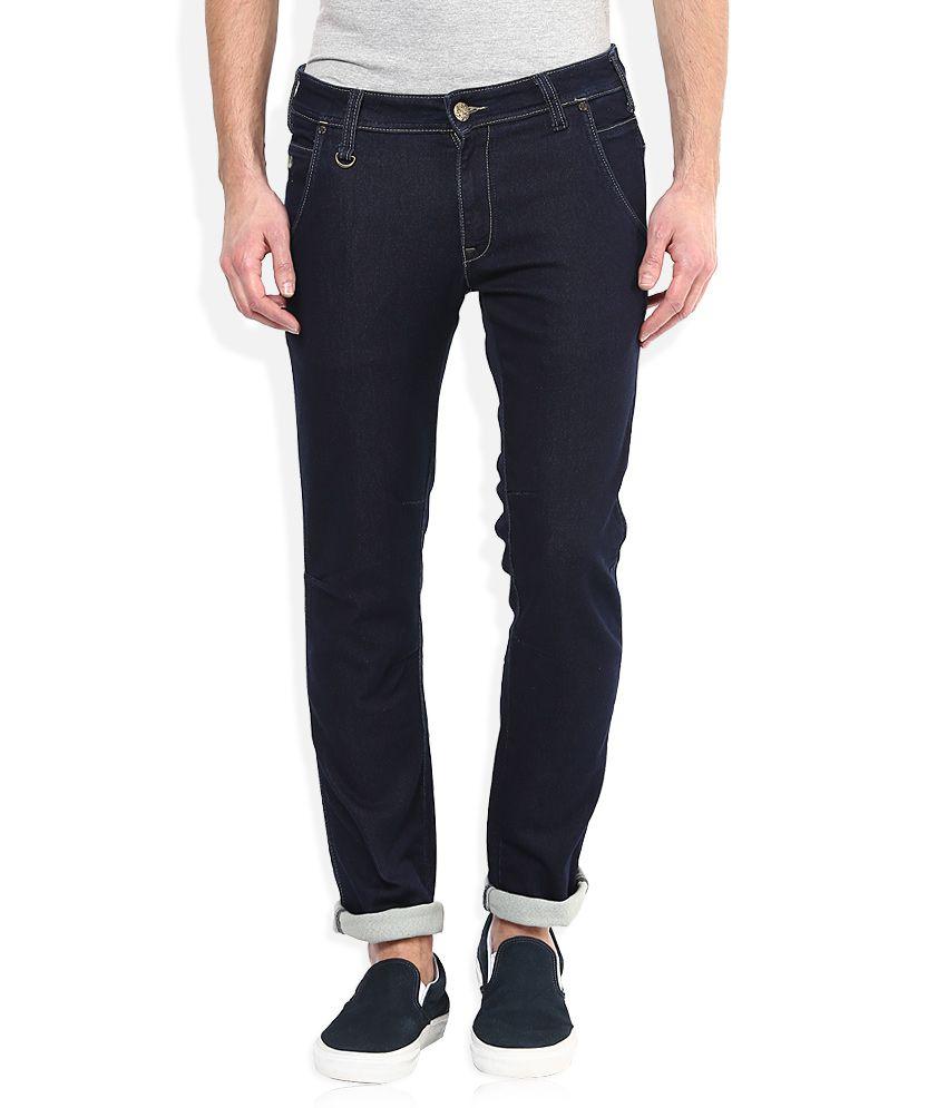 Wrangler Navy Slim Fit Jeans