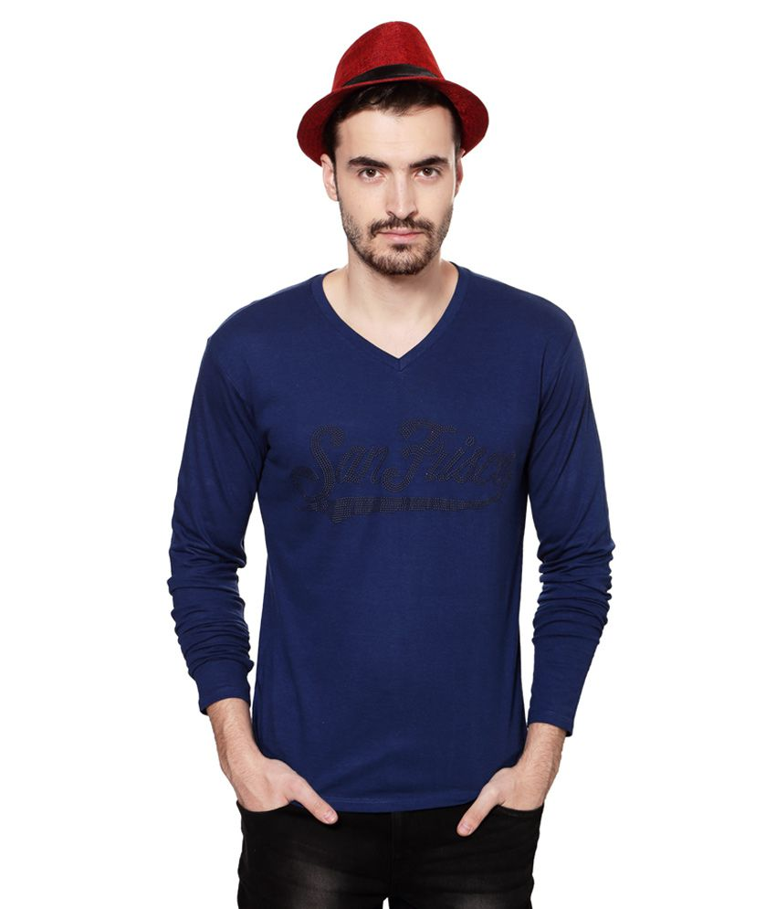 SF Jeans by Pantaloons V-Neck T Shirt