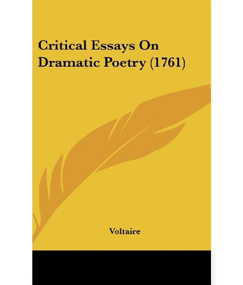 poetry critical essay