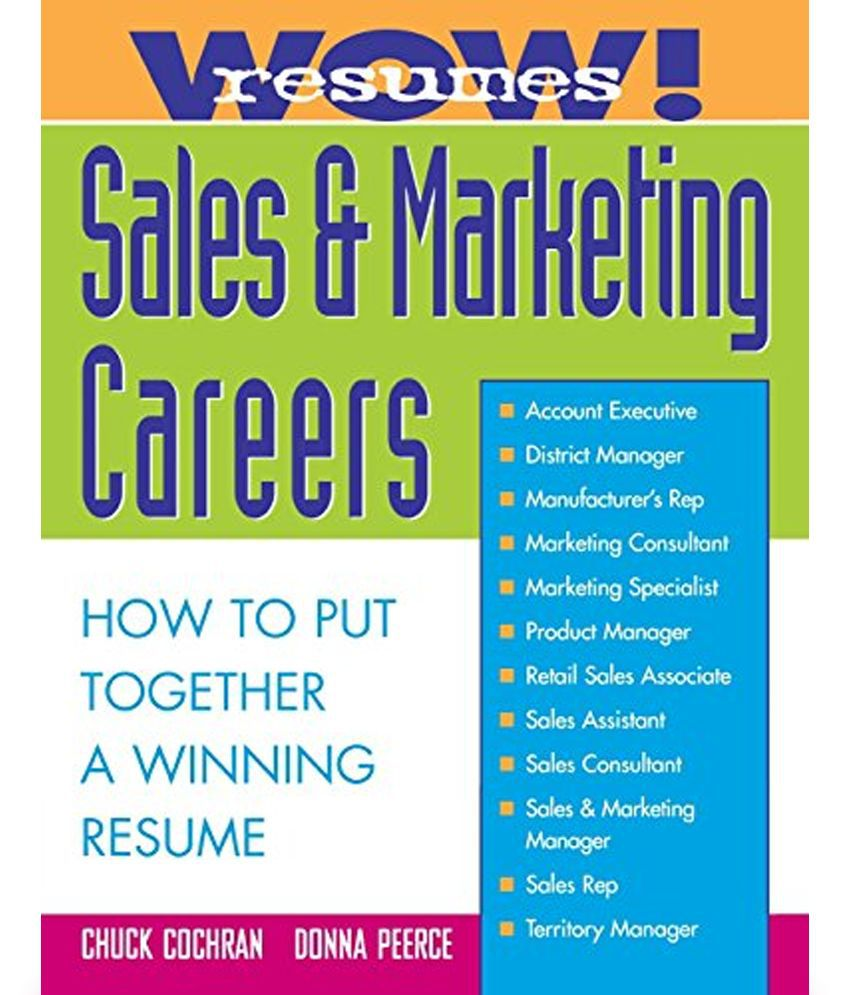 career marketing resume s wow