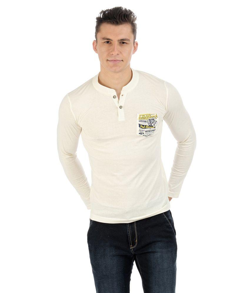 Sting Beige Cotton T-shirt