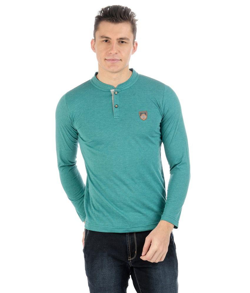 Sting Turquoise Cotton T-shirt